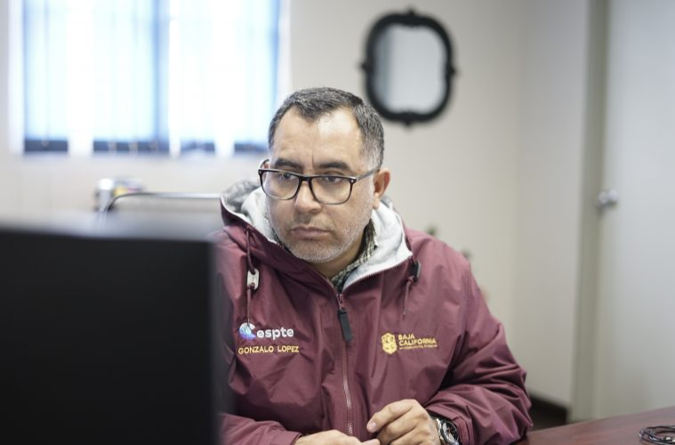 Gonzalo López López, director de Cespte Tecate